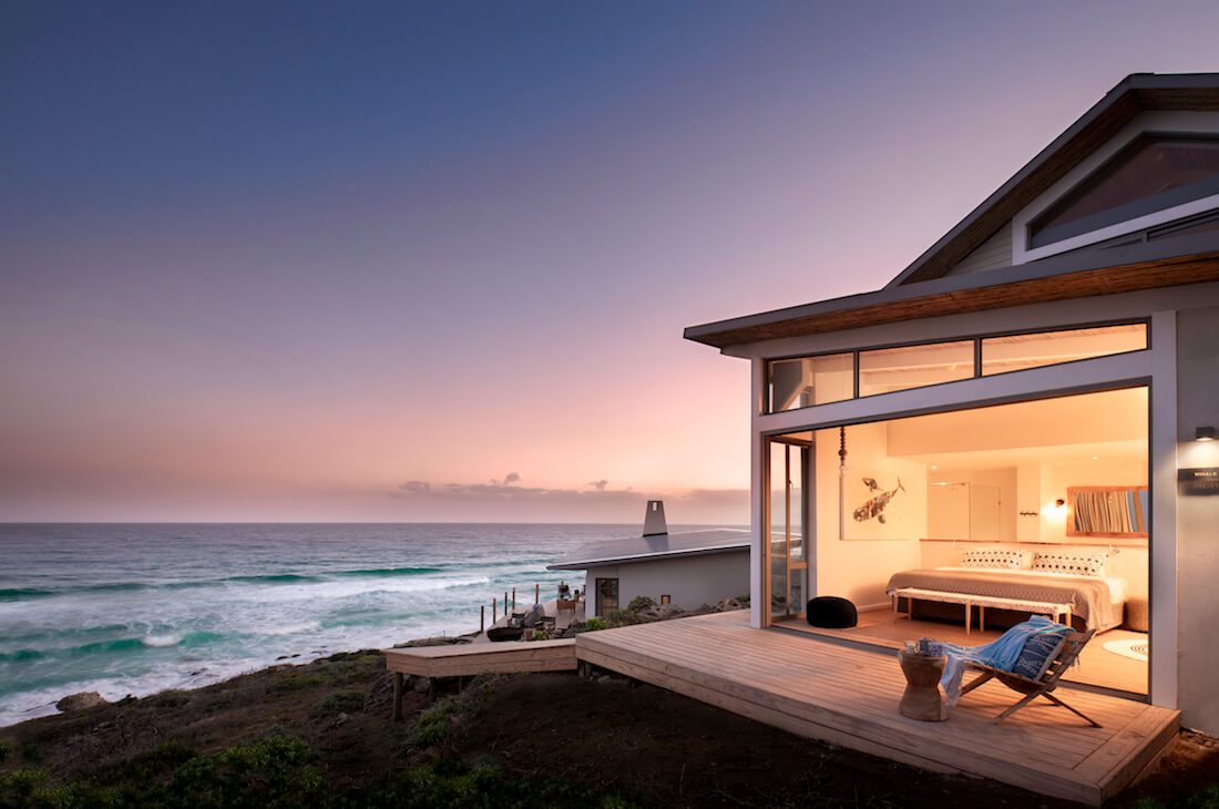 Lekkerwater-Beach-Lodge-Bedroom-at-night