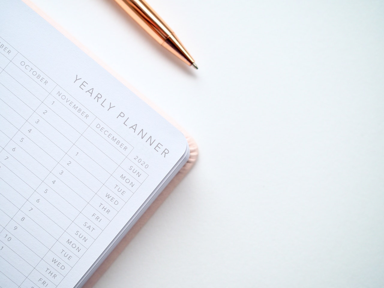 diary planner journal writing